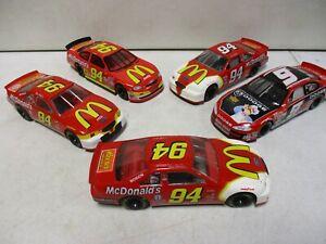 5 Bill Elliott 1/24 Cars with McDonald's, Muppet Show