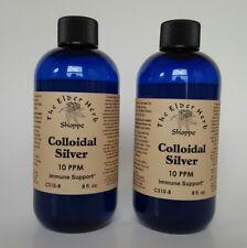 Colloidal Silver (Nano)  8 oz. - 10 ppm The Elder Herb Shoppe 2 Pack -16oz!