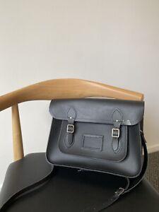 Cambridge Satchel Company Black Bag Leather Satchel