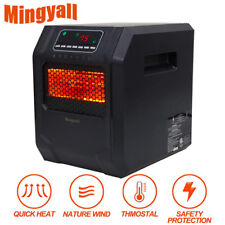 MINGYALL 1500W Space Heater Electric Heater Infrared Quartz Remote Home Heater