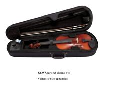 Gewa Pure Set Violino EW PS401621 4/4 PREPARATO CON CUSTODIA ARCHETTO E PECE