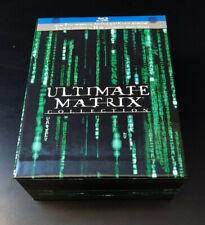 Matrix Ultimate Collection - 4 Bluray 3 DVD - 1a ED. FUORI CATALOGO Keanu Reeves