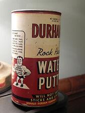 "Donald Durhams Water Putty _Des Moines, Iowa_ ""All Around Repair Champ"" Vtg. USA"