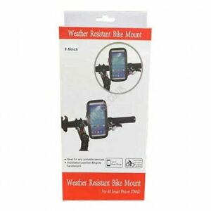 360° Bicycle Motor Bike Waterproof Phone Case Mount Holder 5.5 inches