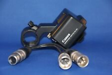 Canon MA-300 MA300 XLR Microphone Mic Adapter GL2 Hot Shoe Video plus XLR cable.