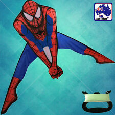 Spiderman Kite 90x150cm Single Line Included Easy to Fly OKITE9911+OKLIN2100