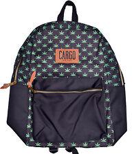 Cargo New York Men's Smoke Tree 420 Weed Leaf Black Backpack