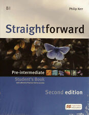 Macmillan STRAIGHTFORWARD 2nd Edit PRE-INTERMEDIATE Student's Book + extras @NEW