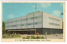 Vintage Postcard Ocala FL U.S. Post Office and Federal Building Florida