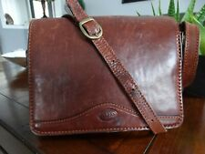 VINTAGE Lara Italy Thick leather cross body bag
