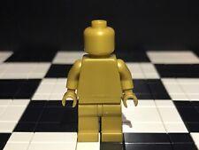 LEGO Plain Pearl Gold minifigura Testa Busto Mani Gambe/Monocromatico