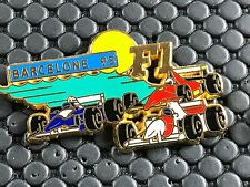PINS PIN BADGE CAR F1 FORMULE 1 BARCELONE  95 FERRARI SIGNE MIAMI