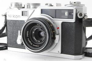 【MINT S/N 620xxxx】Nikon SP Rangefinder Film Camera NIKKOR 28mm 2.8cm f/3.5 JAPAN