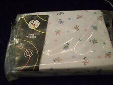 NEW DISNEY STORE  Classic Minnie Mouse-Always Friends Pattern Full Bedskirt