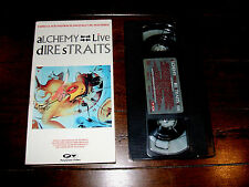 Dire Straits Alchemy Live 1983 VHS Tape Knopfler Sultans Of Swing Tunnel Of Love