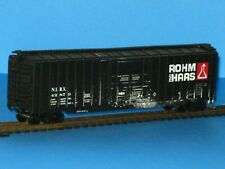 Athearn HO 50' PD Box Car, Rohm & HAAS, #42879