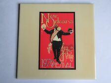 Festival TILE ~ New Orleans Jazz & Heritage Fest Art4Now 1976 ~ Maria Laredo Art