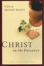 CHRIST IN THE PASSOVER - CEIL & MOISHE ROSEN - JEWS FOR JESUS - FAST FREE POST
