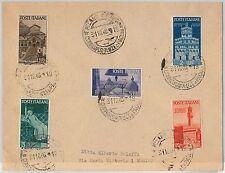 47302 - ITALIA REPUBBLICA - Storia Postale: AVENTO REPUBBLICA su busta FDC !