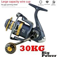 Ultra Smooth Powerful Reel Spinning Fishing Reels 1000-7000 Smooth Light Weight