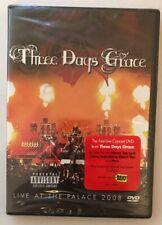 Three/3 Days Grace DVD Live at the Palace 2008 PARENTAL ADVISORY/PA Explicit NEW