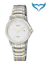 Citizen Elegant Damen Armbanduhr EW1914-56A Eco-Drive Edelstahl Gold plattiert