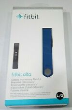 Fitbit Alta Classic Accessory Band Blue Large T3