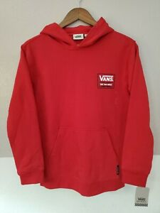 Vans Off The Wall Pullover Hoodie Sweater YOUTH Sizes Red New With Tags