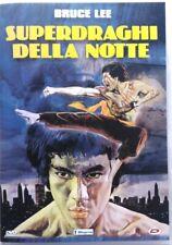 DVD Superdraghi Della Notte with Bruce Lee 1976 Used
