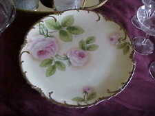 Hand Painted Royal Munich signed Gavin Large Platter Very Large 12.25 Inches Est
