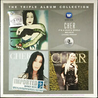 CHER The Triple Album Collection 2012 MALAYSIA EU EDITION 3 CD SET NEW FREE SHIP