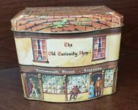 Vintage Tin---The Old Curiosity Shop--England---Collectible Candy Tin Hinged Lid