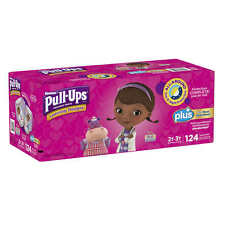 Huggies Pull-Ups Potty Training Pants Girls 2-3T 124 Ct Diapers  Disposable NEW!