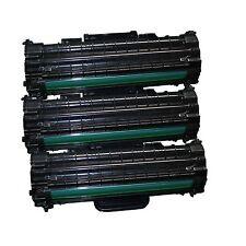 3x tóner para Samsung ml-1610 ml1610r ml2010 p r ml1615 ml1620 scx4521 f dell 1100