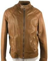 NEW BARBED/ Bloomingdales Men's Leather Jacket - Made in Italy MSRP $995