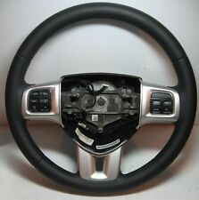 2013 Avenger Leather Steering Wheel OEM Bluetooth Sirius Voice Command Uconnect