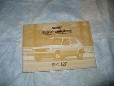 FIAT 127 BETRIEBSANLEITUNG LIBRETTO USO MANUTENZIONE 127L 127C 127CL 1979