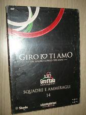 DVD N° 14 GIRO IO TI AMO SQUADRE E AMMIRAGLI NUOVO GIRO D'ITALIA