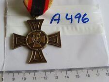 Orden Bundeswehr Ehrenkreuz bronze mit Etui und Bandspange (A496)