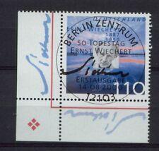 Germany 2000 SG#2980 Ernst Wiechert Cto Used