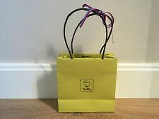 Used - DODO - bolsa de papel verde - Green Paper bag - 16 x 16 x 6,5 cm