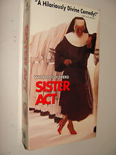 Sister Act (VHS, 1992) Whoopie Goldberg Maggie Smith Harvey Keitel