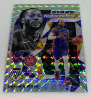 2019-20 Mosaic DERRICK ROSE Pistons STARE MASTERS SILVER MOSAIC PRIZM REFRACTOR