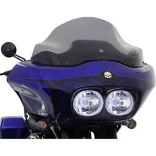 "Klock Werks 12"" Dark Smoke Flare Sport-Touring Windshield Harley Road Glide"