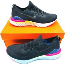 Nike Mens Epic React Flyknit 2 Running Shoes Black BQ8928-003 2018 Size 10.5 New