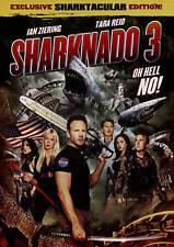Sharknado 3 ian ziering tara reid bo derek frankie muniz new DVD