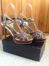 Fiore Party Strappy, Ankle Straps Heels for Women