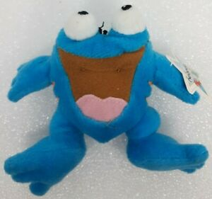Neopets McDonald's Blue Quiggle Plush Toy web frog neo pet happy meal prize