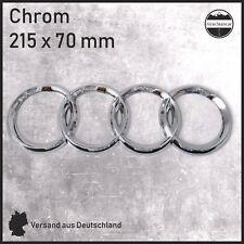 Emblem für AUDI Audi Chrom Sticker Aufkleber Logo Zeichen Abdeckung Plakette NEU