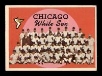 1959 Topps Set Break # 94 Chicago White Sox Team Card VG *OBGcards*